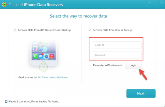 Recover Deleted Files from iPhone/iPad/iPod Touch Free