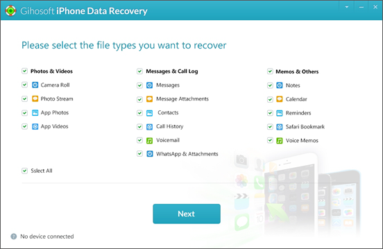 Gihosoft Free iPhone Data Recovery is the best and most reliable free iPhone recovery software.