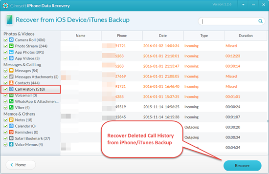 how to see deleted history on iphone how to recover call history on iphone for free 9453