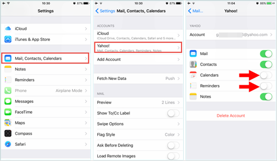 How to Recover Deleted Reminders and Calendar from iPhone