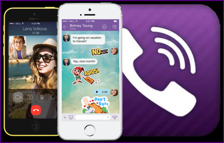 viber free calls and messages for iphone