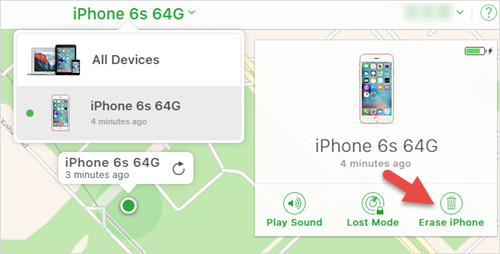 Unlock Disabled iPhone/iPad/iPod without iTunes through Find My iPhone