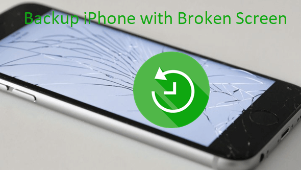 Backup iPhone with Broken Screen and Passcode