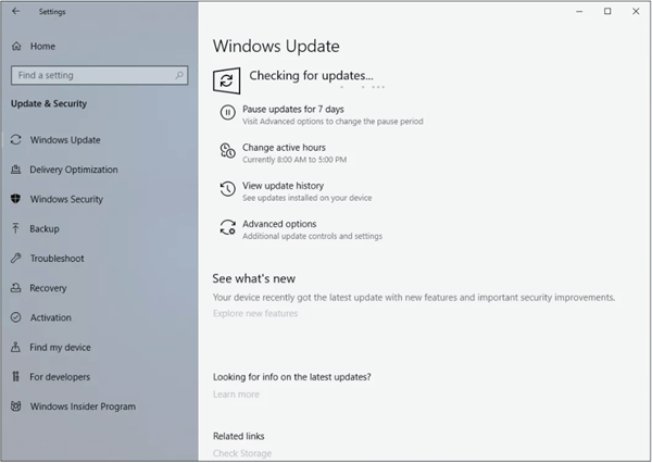 Failure to update your Windows is fingered as one of the common causes of an iPhone not showing up on PC.