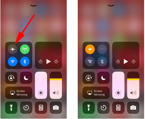 Try Airplane Mode to Fix iPhone Messages Out of Order.