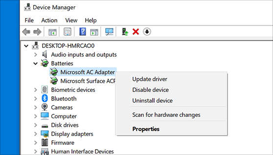 Update Windows Drivers