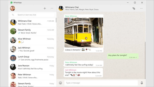 WhatsApp messaging app is not just for iPhone and Android devices.