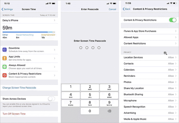Disable Restrictions on Your iPhone