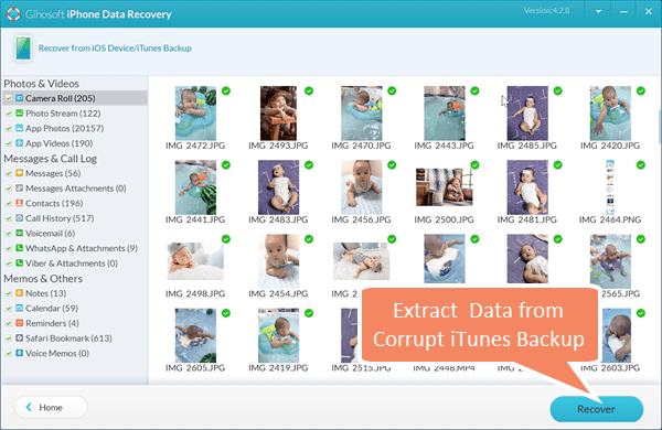 Extract and Restore iPhone Backup with Freeware