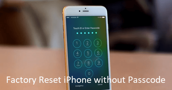 Reset iPhone/iPad without Password