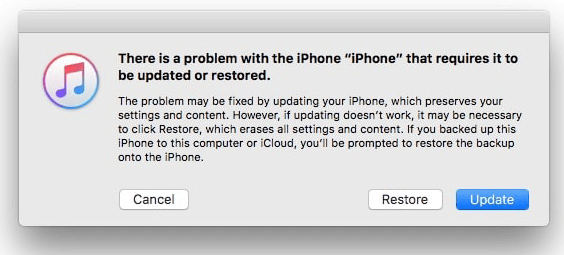 Factory Reset Locked iPhone/iPad with Recovery Mode