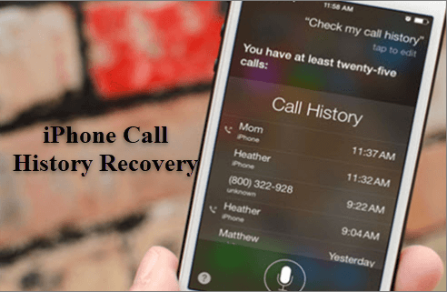 Retrieve Deleted Call Logs on iPhone