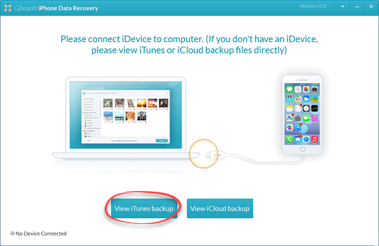 Retrieve Deleted Call Logs from iTunes Backup